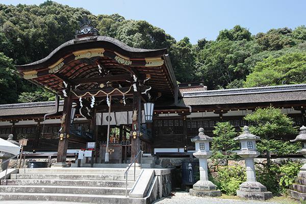 京都府にある日本酒三大神社の1つ松尾大社の画像