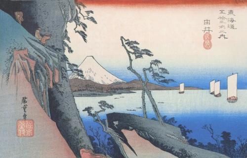 東海道五十三次の画像