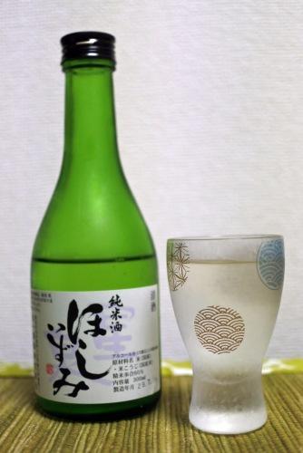 ほしいずみ純米酒の正面の画像