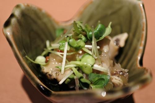 日本酒飲み放題十八代光蔵つぶ貝
