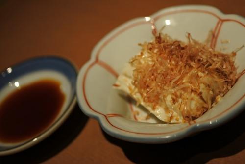 日本酒飲み放題十八代光蔵豆腐