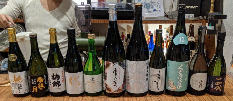 白鶴錦を使った日本酒全銘柄の画像
