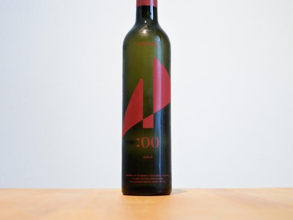 芳醇な旨味と酸味のおしゃれ系日本酒「HINEMOS ICHIJI」の表ラベルの画像